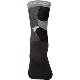 POC Essential Print Socks, color splashes multi sylvanite grey